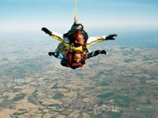 Salto Tadem 4200m com video e foto